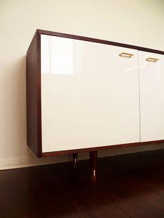 Mid Century Style Credenza - IKEA Hackers