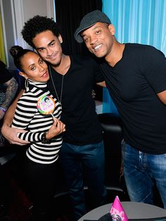 Star Tracks: Monday, November 17, 2014   ALL TOGETHER NOW   Will Smith and wife Jada help son Trey – a.k.a. DJ AcE – celebrate his 22nd birthday Saturday at the Las Vegas Ghostbar Dayclub.