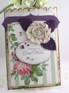 Quick and Easy to Make Card & Gift Bag Set
