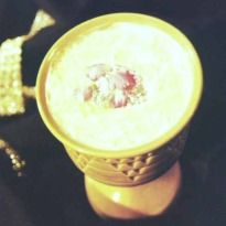Hyderabadi #Phirni: A delectable and fragrant milk and rice based Indian #dessert served in mitti ke kasore. Milk thickened with rice flour and flavored with cardamom and rose essence.