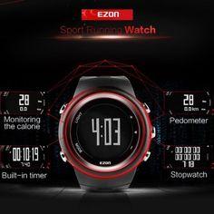 EZON T023 Running Sports – Men Running Sports Watch, Pedometer, Calorie Counter, Smart Watch.