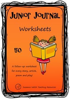 Worksheets for 'Junior Journal 50' (New Zealand Reading) Excellent resource for your reading programme. Made by a teacher ... for teachers. This resource contains: * Ordering events. * Cloze, compound words, suffix (-ful). * Word search. * Alphabetical order, unjumble the words, circle the correct spelling, word frames. *