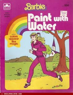 Paint with Water books were brilliant - they allowed anyone with basic motor skills to exhibit (a modicum of) artistic talent. I had a ton of these and felt so accomplished when painting.