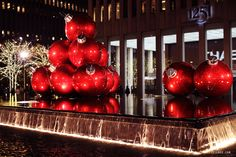 This wonderful design collections about Interesting Christmas Ornaments And Decorations NYC ♥ NYC: Christmas Holiday Decorations On Sixth Avenue
