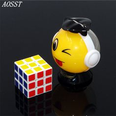 (AOSST)3x3x3 Whirlwind boy Q small Cube Professional multicolour Cubo Cast Coated Puzzle Speed Twist learning & Eeducation Toys