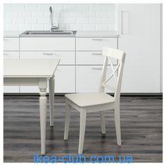 ИКЕА (IKEA) CLUB   701.032.50, ИНГОЛЬФ, Стул, белый
