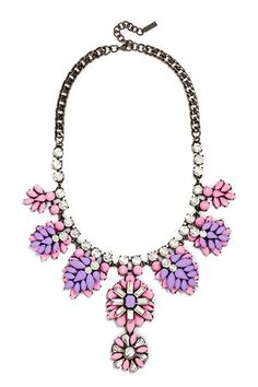 Statement Necklaces - Pastel Jewelry Trend