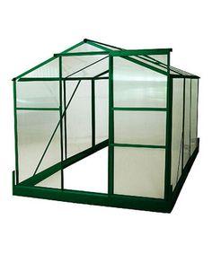 Loving this Green Medium Greenhouse on #zulily! #zulilyfinds