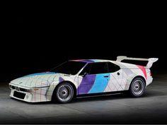 BMW M1 Procar Art Car by Frank Stella