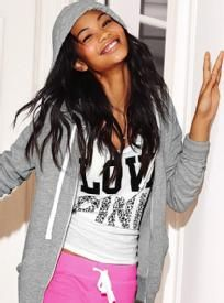 Love Chanel. :) Whatever you choose to wear, work it. #PinkNation #LovePink #VictoriasSecret