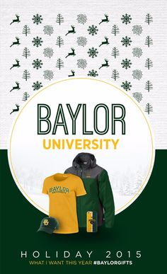 This catalog is jam-packed with great Christmas gifts for every Baylor Bear you know!