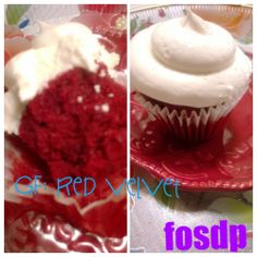 Sugar From The Heart Gluten Free Red Velvet Cupcake