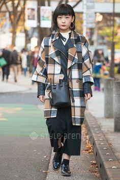 Saki | Barak H&M  WEGO LOWRYS FARM Vivienne Westwood JEANASIS ZARA tutuanna* | 1st week  Dec. 2016 | Omotesando | Tokyo Street Style | TOKYO STREET FASHION NEWS | style-arena.jp