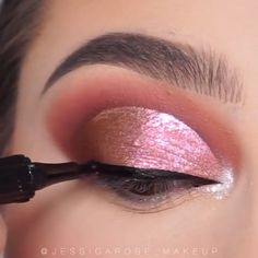 Make up Makeup by ummehani Makeup Eye Looks, Eye Makeup Steps, Beautiful Eye Makeup, Eye Makeup Art, Beauty Makeup Tips, Smokey Eye Makeup, Eyebrow Makeup, Glam Makeup, Eyeshadow Makeup