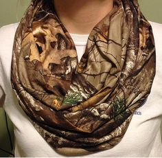 Found this really awesome Etsy listing at https://www.etsy.com/listing/181476650/realtree-camo-infinity-scarf