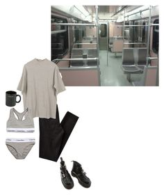 """london life"" by inteovertgirl ❤ liked on Polyvore featuring Cheap Monday, Calvin Klein Underwear, Dr. Martens and HUF"