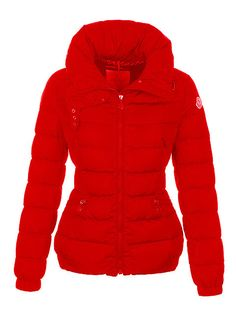 Moncler Giacca Moda in Red