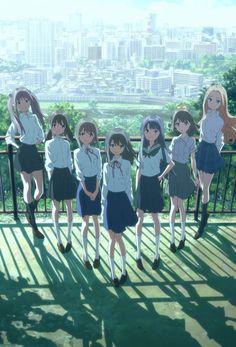 Wake Up, Girls! Un nuovo anime sul mondo delle idol