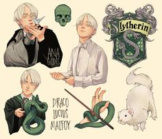 Draco Harry Potter, Harry Potter Anime, Magia Harry Potter, Estilo Harry Potter, Arte Do Harry Potter, Harry Potter Artwork, Harry Potter Drawings, Harry Potter Pictures, Harry Potter Wallpaper