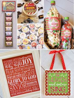 TONS of Christmas Printables!! Great gift ideas for friends, neighbor gifts, teachers, craft activities, etc #mycomputerismycanvas