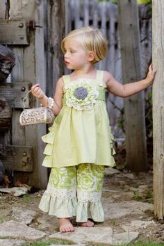 Persnickety Green Olivia Jumper