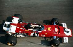 Jacky Ickx, Ferrari 312b, Monza 1971