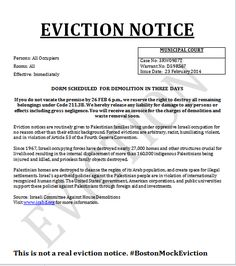 Printable Sample Notice Of Eviction Form