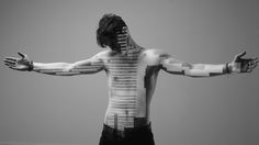 For this project i create animation that i project on bodies and then shoot the bodies. There is no post production.