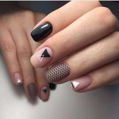 Awesome 200+ Minimalist Nail Art Ideas https://fazhion.co/2017/04/01/200-minimalist-nail-art-ideas/ If you prefer something simple, try out this nail design. It is a really different sort of nail art design, but it isn't too much Check The Details at https://fazhion.co/2017/04/01/200-minimalist-nail-art-ideas/