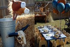 Another... COWBOY THEMED PARTY