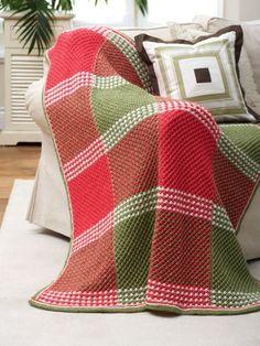 Star Stitch Afghan   Yarn   Free Knitting Patterns   Crochet Patterns   Yarnspirations