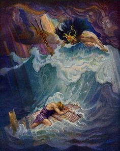MITOLOGÍA PARA NIÑOS: Ulises y la bella Nausica. El héroe por fin llega a la isla de los feacios. | RZ100 Cuentos de boca
