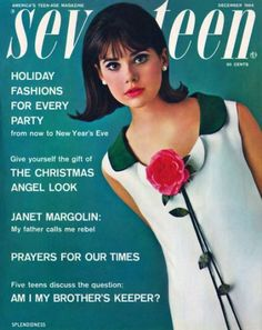 Colleen Corby, Seventeen magazine, December 1964
