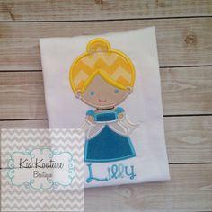 Princess Cinderella shirt by KoutureKid on Etsy