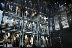 A better look at the set from Newsies. More reviews at Curtain Critic: http://www.curtaincritic.com