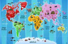 ilustracao-infantil-mapa-mundi.jpg 575×376 pixels
