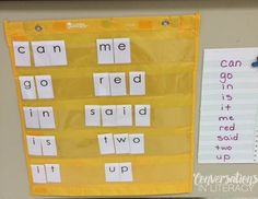 Make It, Play It, Learn It Sight Word Fun- easy to prep sight word activities!