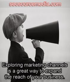 Exploring marketing channels is a great way to expand the reach of your business.
