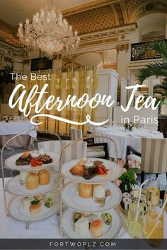 Best Afternoon Tea in Paris. With an assortment of savory and sweet treats, afternoon tea at The Peninsula Paris is a real treat!