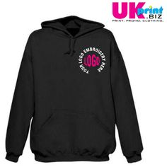 10 x hoodies inc embroidery only £100 #pastoffers