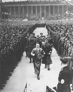 See Images of Adolf Hitler, History's Monster: Nazi Rallies and Parades