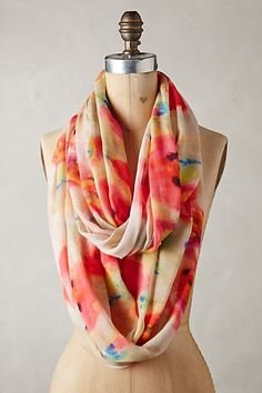 Water Gardens Infinity Scarf #anthropologie