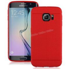 Samsung Galaxy S6 Edge Benekli Silikon Kılıf Kırmızı -  - Price : TL19.90. Buy now at http://www.teleplus.com.tr/index.php/samsung-galaxy-s6-edge-benekli-silikon-kilif-kirmizi.html