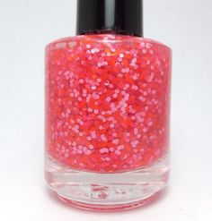 center of the ring glitter nail polish by pipedreampolish