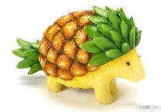 Pineapple hedgehog