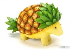 Pineapple hedgehog so cute!