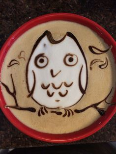 Owl Latte Art Collection