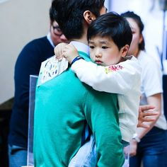 Parenting With Anxiety Superman Baby, Jiyong, Kos, Daddy, Parenting, Photo And Video, Happy Family, Pictures, Anxiety