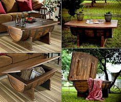 Riciclo Creativo - botte di legno