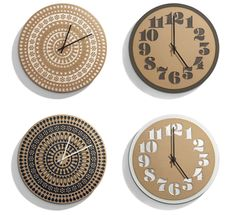 Relojes de House Industries & Heath Ceramics